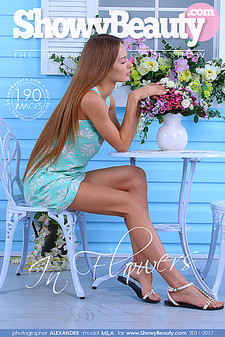 ShowyBeauty - Mila - In Flowers