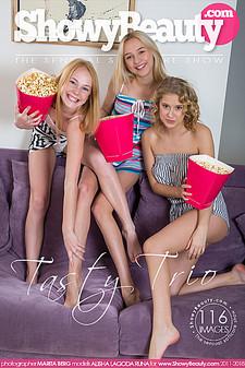 Showy Beauty - Alisha, Lagoda (Ame), Runa - Tasty Trio