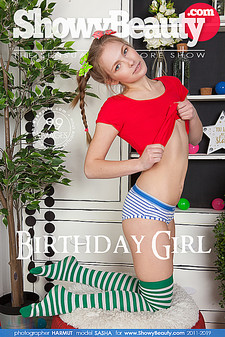 Showy Beauty - Sasha - Birthday Girl